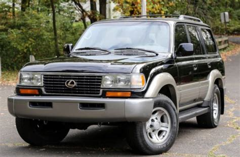 purchase used 1997 lexus lx450 4wd 4x4 leather 3rd row