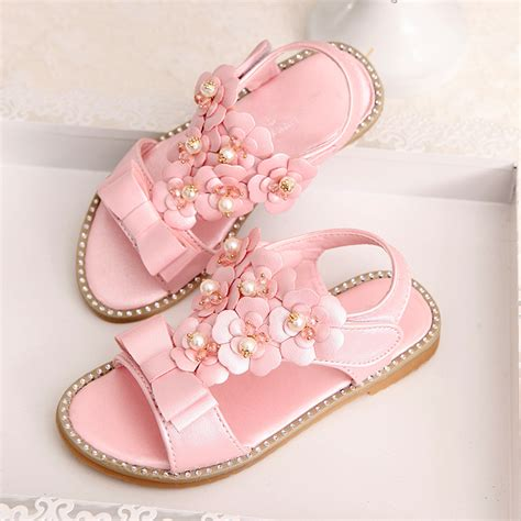 2016 high quality baby sandals princess shoes gold silver