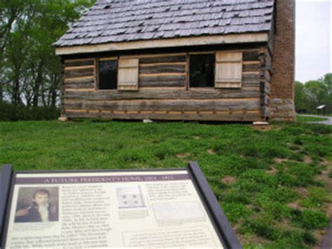Jacksons Cabin by President Andrew Jackson S Home The Hermitage In Nashville