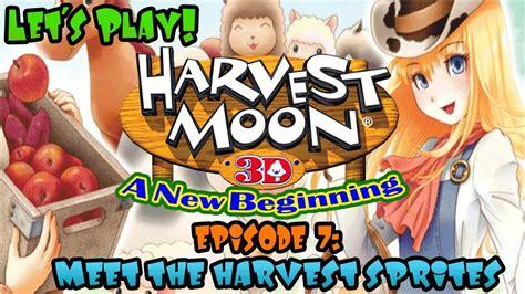 Kaset Harvest Moon 3d A New Beginning 3ds harvest moon 3d a new beginning meet the harvest