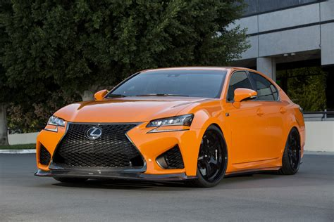 custom lexus rc f custom lexus gs f and rc f at sema