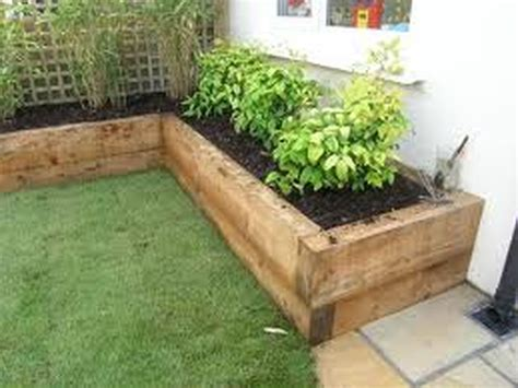 Wooden Sleepers Garden Edging by Garden Ties Search B Gardening Driveway Pavers Gardens And Garden Borders