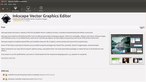 membuat video tutorial di linux tutorial menginstal software aplikasi inkscpae di linux