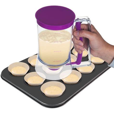 cupcake batter dispenser chef buddy cake batter dispenser only 5 90 reg 29 99