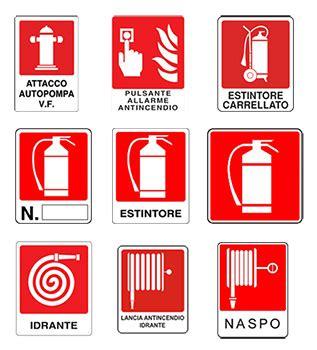 antincendio pavia cartelli segnaletici pavia voghera piacenza e