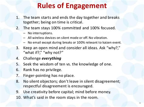 rules of engagement 1 the