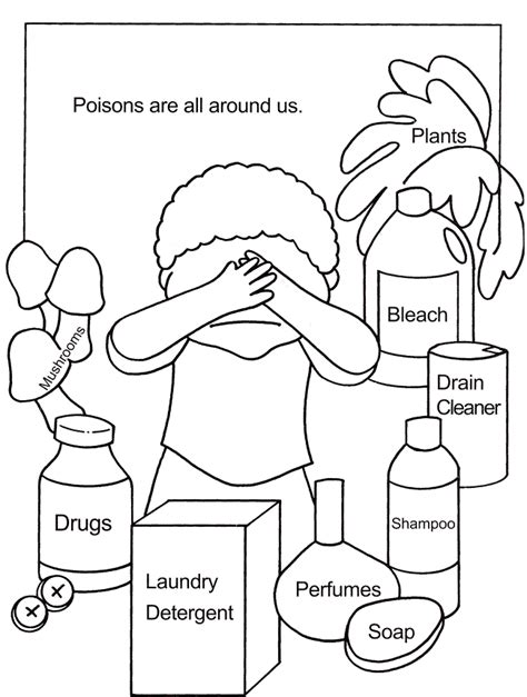 coloring pages for child safety safety coloring page az coloring pages