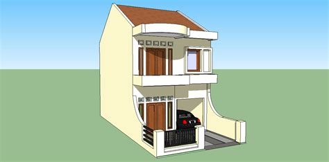 desain gapura joglo sketsa sederhana rumah minimalis