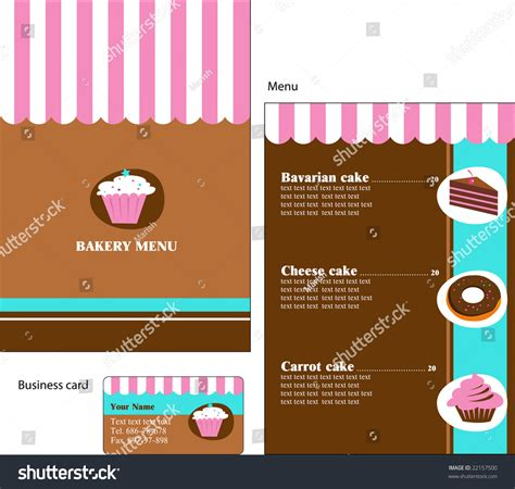 templates for business card mx template designs of menu and business card for cafe