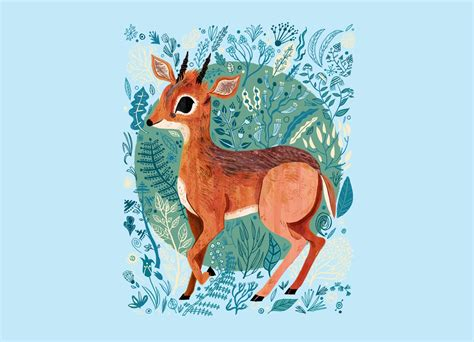 Shop Duvet Covers Dik Dik By Meg Hunt Threadless