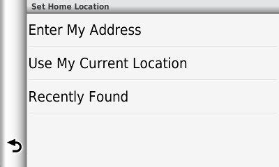 tip avoid common problems setting your home address gps