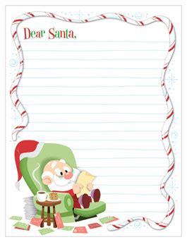Dear Santa Free Printable Santa Letter Templates Free Printable Santa Letters Santa Letter Hallmark Letter Template