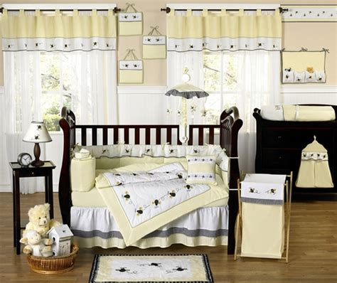 unique baby crib bedding sets designer unique bumble bee baby bedding 9 pc crib set only 189 99