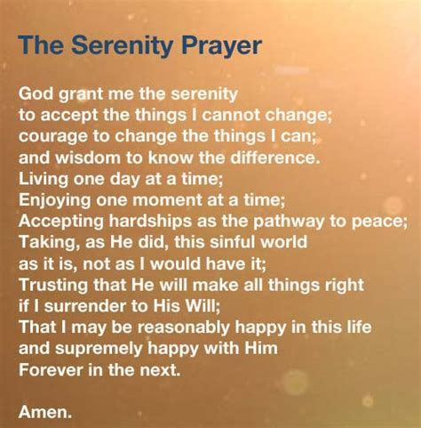 prayers for a shaped inspiring prayers for living books the serenity prayer god grant me the serenity