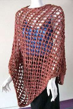 open mesh poncho knitting pattern free from www