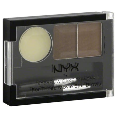 Nyx Brow Powder nyx eyebrow cake powder