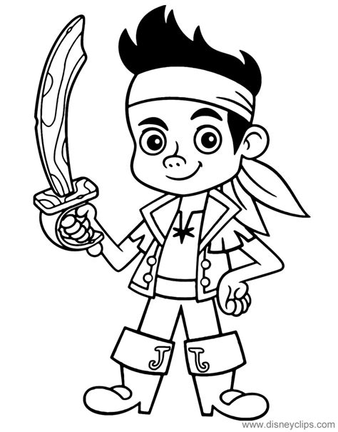 jake and the neverland coloring pages jake and the neverland coloring pages disney s