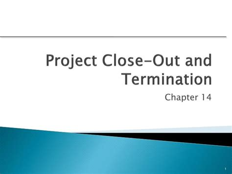 project closeout ppt project out and termination powerpoint