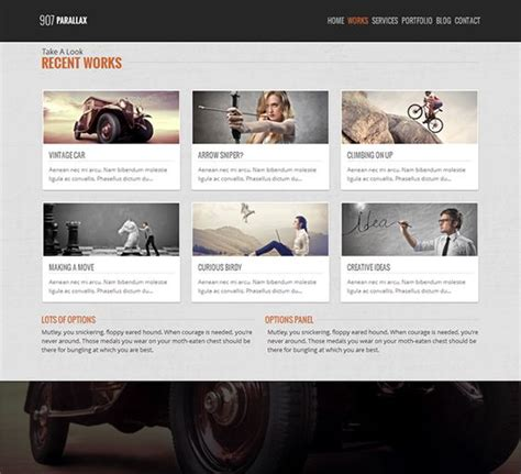 wordpress layout navigation 18 best 18 more of the best one page wordpress themes