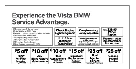 bmw coupon promo code