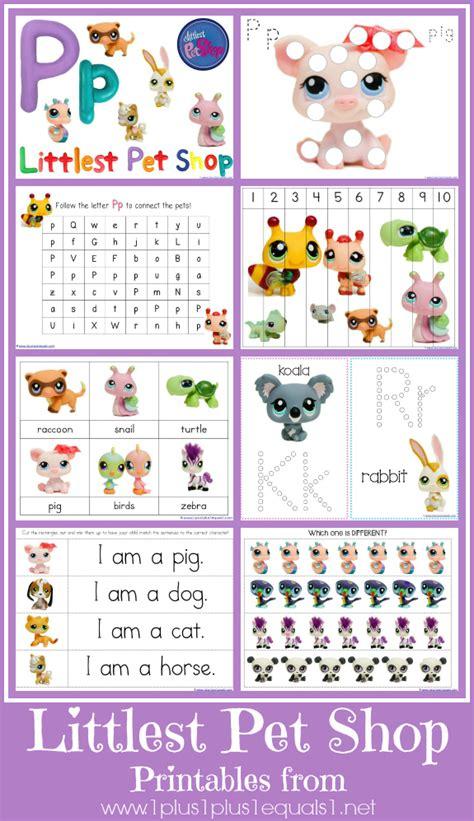 Lps Printables littlest pet shop printables