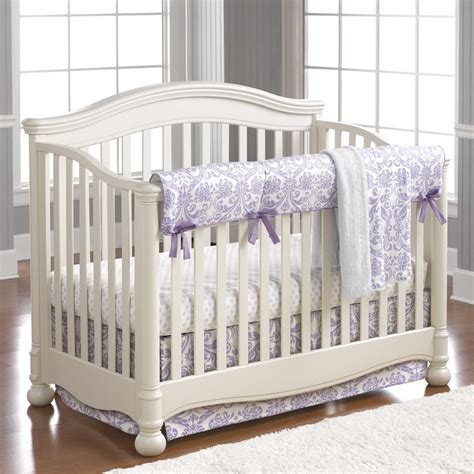 And White Crib Bedding by Purple Baby Bedding Baby Crib Bedding Liz And Roo