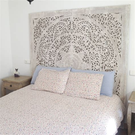 headboard art white washed teak door google search home inspiration