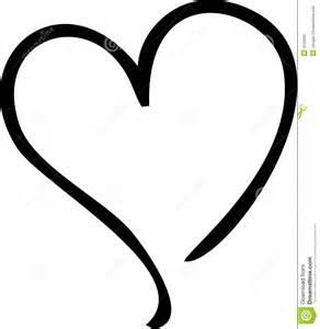 hart stock illustratie afbeelding bestaande uit zwart