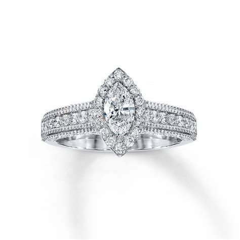 marvelous marquise engagement ring from jared