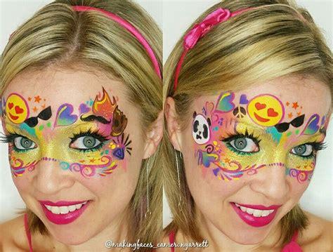 emoji mask  graffiti eyes emoji stencils fasching