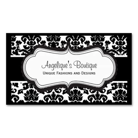 damask business card template free black and white damask business cards business