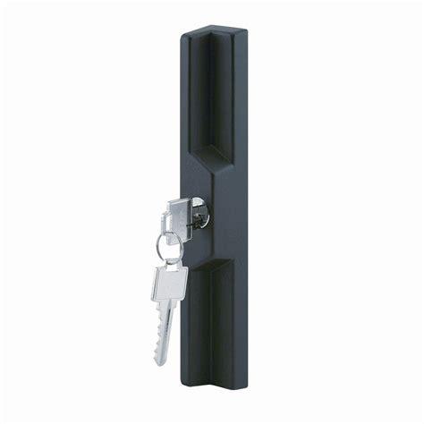 Prime Line 5 In Outside Black Keyed Sliding Glass Door Keyed Lock For Sliding Glass Door
