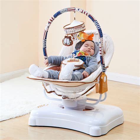 Motorized Crib by High Quality Electric Crib Baby Cradle Electric Rocking