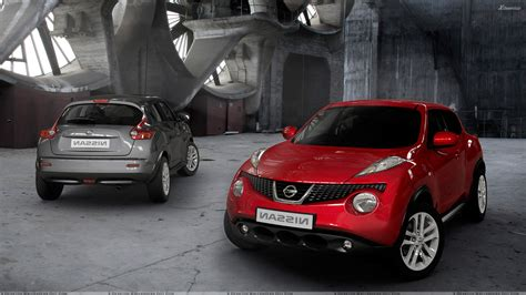 nissan juke grey front n back pose of 2011 nissan juke red vs grey wallpaper
