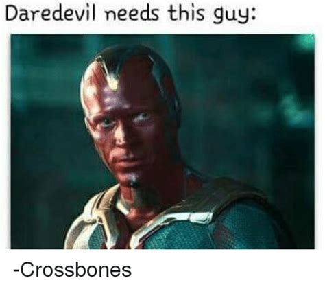 Daredevil Meme - 25 best memes about crossbones crossbones memes