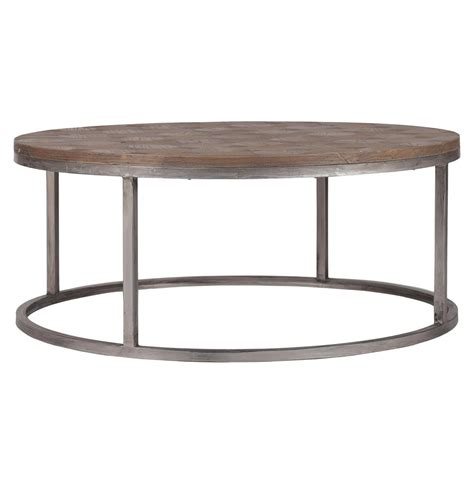 Colby Modern Industrial Loft Reclaimed Wood Coffee Table Recycled Coffee Table