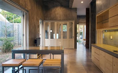 ide desain rumah kecil industrial terlengkap desain