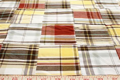 Patchwork Plaid Fabric - patchwork madras plaid fabric patchwork madras patchwork