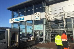 mazda middlesbrough recent projects ashbrook construction services ltd