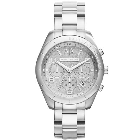 armani exchange ax armani exchange womens chronograph