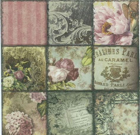 decoupage paper napkins of vintage epoque
