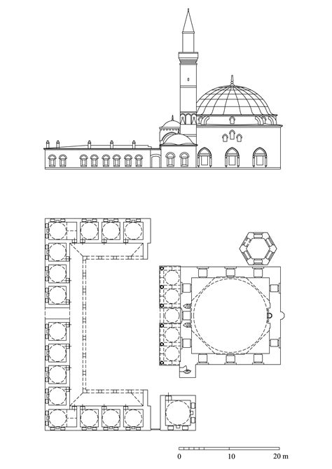 mosque floor plan mosque plans and elevations images