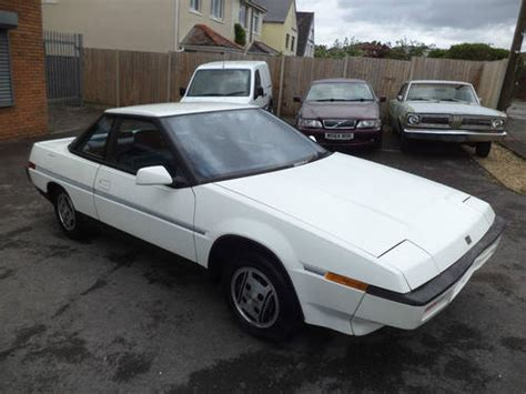 Subaru Xt Coupe by Subaru 1800 Xt Coupe 2dr 5 Speed 1986 White Lhd 1 Owner