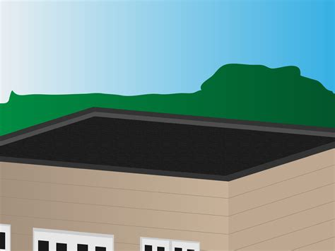 flat roof how to replace a flat roof 13 steps with pictures wikihow