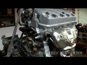 how to replace the gasket on a honda b16a series