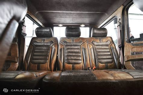 Mercedes G Class Interior by Mercedes G Class Vintage Interior By Carlex Design