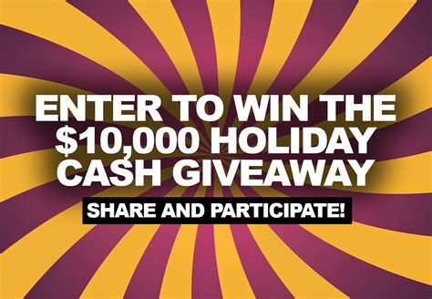 Enter Contests To Win Money - cash giveaway enter to win 10 000 cash
