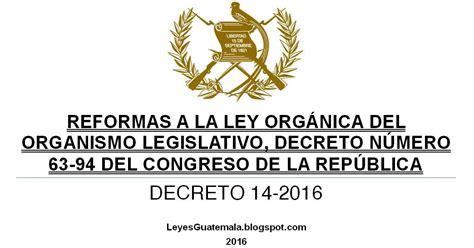decreto 2423 de 2016 leyes acuerdos y temas de guatemala decreto 14 2016