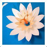 lotus flower pop up card template and pdf template to in this site to