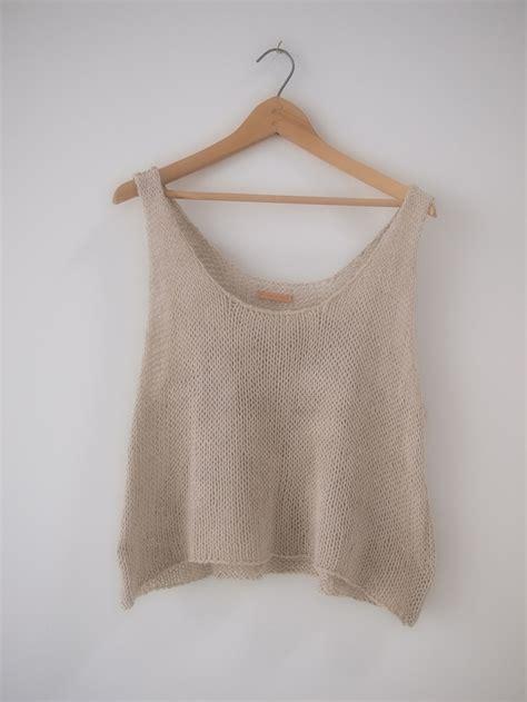 Pattern Knit Top 25 best ideas about crochet tank tops on